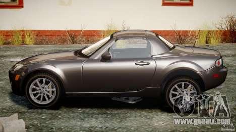 Mazda MX-5 for GTA 4 inner view
