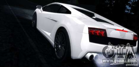 Lamborghini Gallardo LP560-4 for GTA San Andreas left view