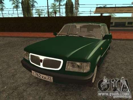 GAZ 3110 v. 2 for GTA San Andreas