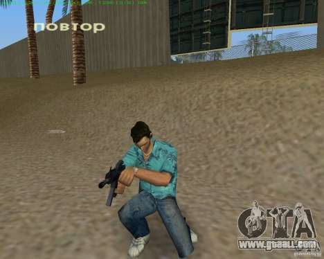 M4 from Counter Strike Source for GTA Vice City forth screenshot