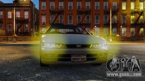 Yellow light lights for GTA 4 second screenshot