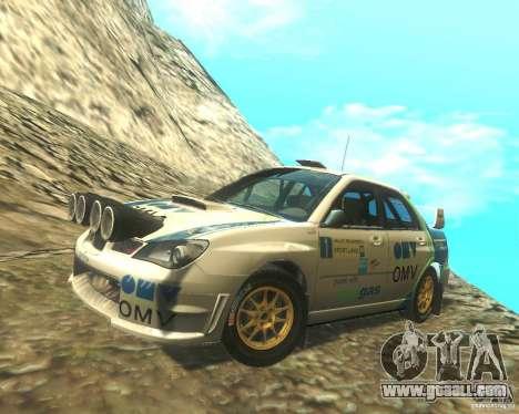 Subaru Impreza WRX STI DIRT 2 for GTA San Andreas upper view