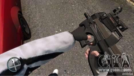 FN P90 for GTA 4