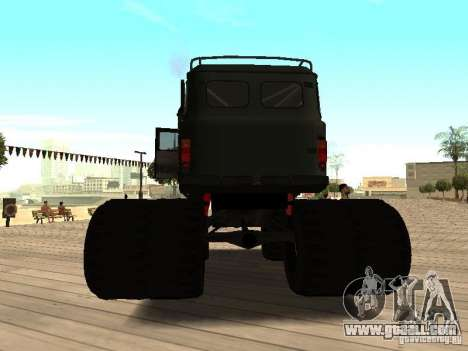 Uaz Monster for GTA San Andreas back left view