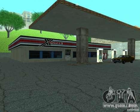 New Xoomer. new gas station. for GTA San Andreas second screenshot