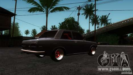 Nissan Datsun 510 for GTA San Andreas right view