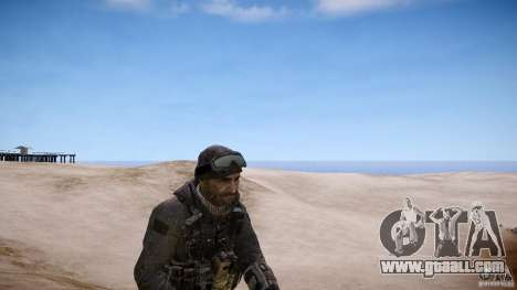 Captain Price from COD MW3 for GTA 4 second screenshot