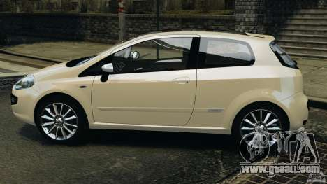 Fiat Punto Evo Sport 2012 v1.0 [RIV] for GTA 4 left view