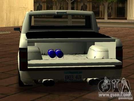 New Tuned Bobcat for GTA San Andreas back view
