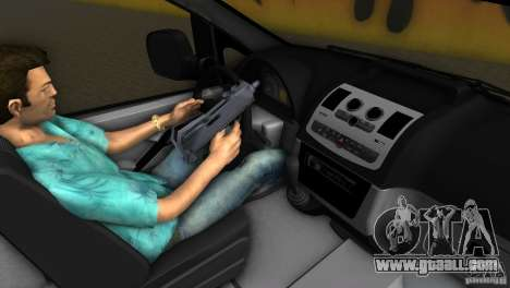 Mercedes-Benz Vito 2007 for GTA Vice City back view