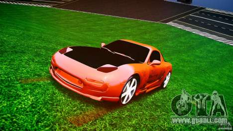 Mazda RX-7 ProStreet Style for GTA 4 back view