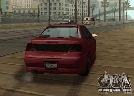 FEROCI VIP for GTA San Andreas right view