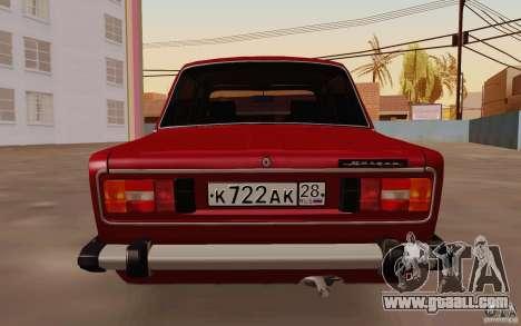 VAZ 2106 Drain for GTA San Andreas right view