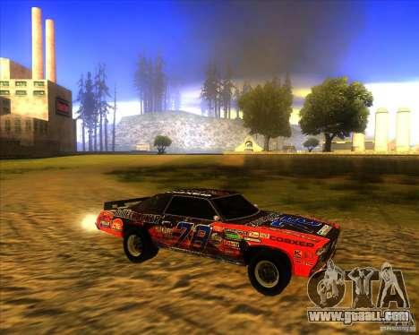 Bonecracker from FlatOut 1 for GTA San Andreas left view