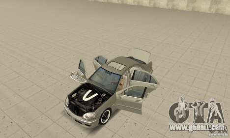 Mercedes-Benz S65 AMG 2004 for GTA San Andreas back view