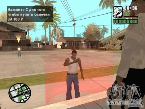 Buy seeds for GTA San Andreas