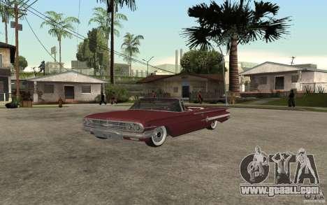 Chevrolet Impala 1960 for GTA San Andreas