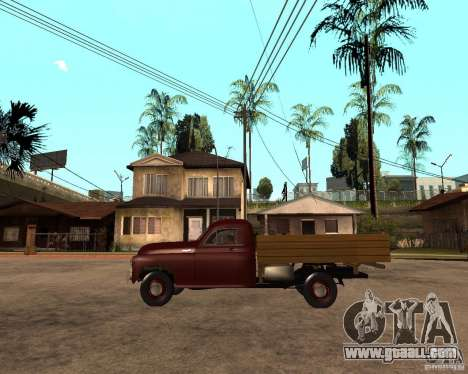Gaz M-20 Pobeda PickUp for GTA San Andreas left view