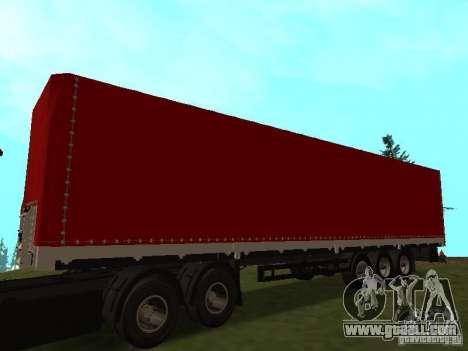 Nefaz 93344 Red for GTA San Andreas