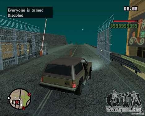CJ-Mayor for GTA San Andreas eighth screenshot
