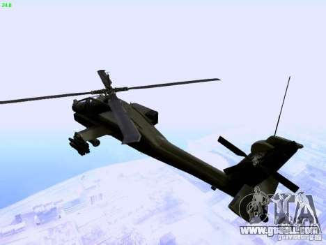 HD Hunter for GTA San Andreas left view