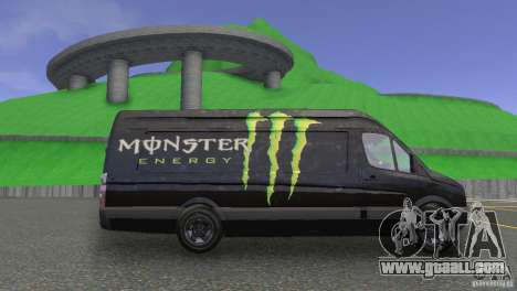 Volkswagen Crafter for GTA 4 right view