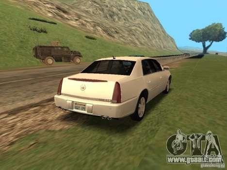Cadillac DTS 2010 for GTA San Andreas left view