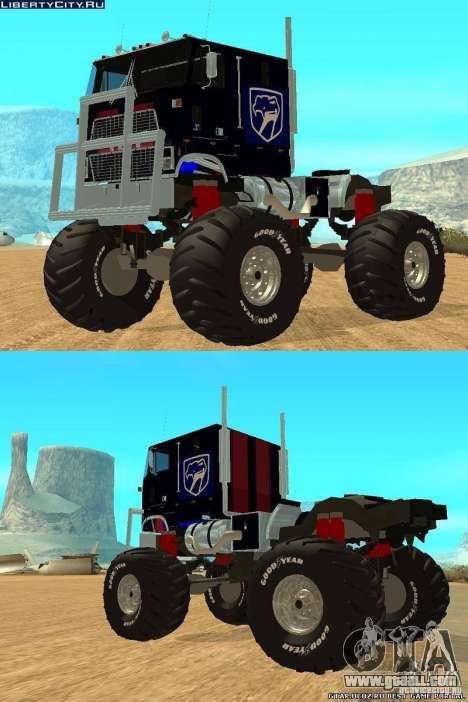 Ford CLT Monster Truck for GTA San Andreas