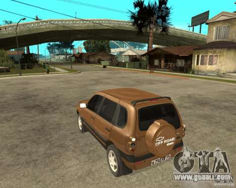 CHEVROLET NIVA Version 2.0 for GTA San Andreas left view