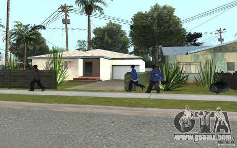 Crips 4 Life for GTA San Andreas fifth screenshot