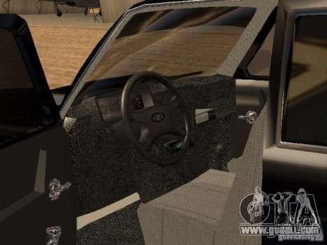 VAZ 2121 Tuning for GTA San Andreas right view