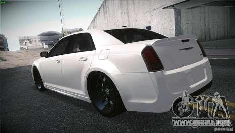 Chrysler 300 SRT8 2012 for GTA San Andreas back view