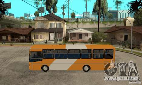 CAIO Alpha Mercedes-Benz OH-142051 skin Zona C for GTA San Andreas left view