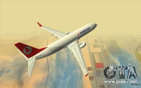 Boeing 737-800 THY for GTA San Andreas