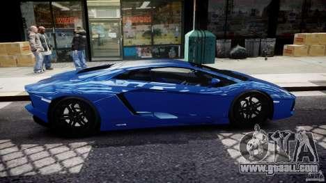 Lamborghini Aventador LP700-4 2011 [EPM] for GTA 4 side view