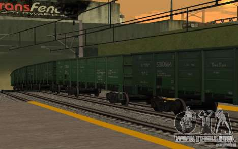 RAILWAY mod II for GTA San Andreas tenth screenshot