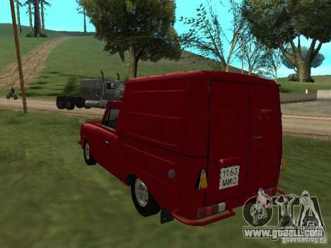 Izh 2715 1982 for GTA San Andreas back left view