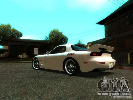 Mazda RX-7 TypeR for GTA San Andreas left view