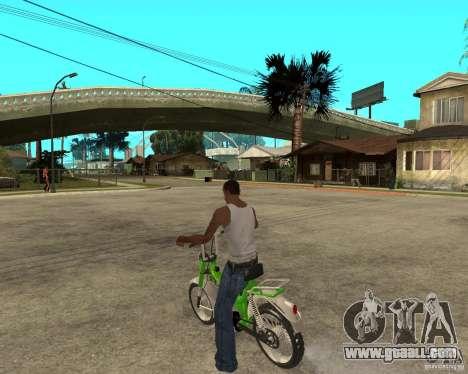 Mustang Mamba for GTA San Andreas left view