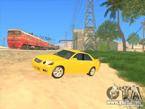 Toyota Mark II Grande for GTA San Andreas upper view