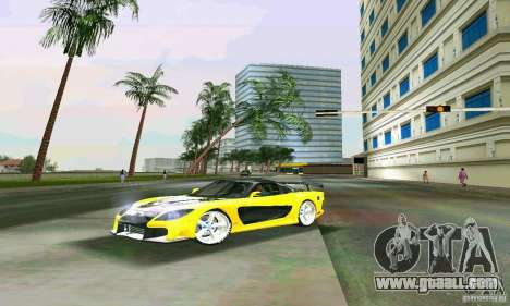 Mazda RX7 VeilSide for GTA Vice City back left view