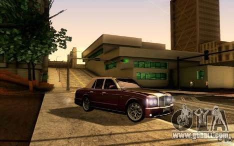 Bentley Arnage R 2005 for GTA San Andreas