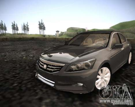 Honda Accord 2011 for GTA San Andreas