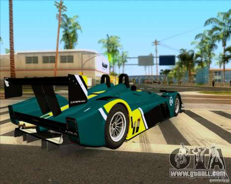Caterham Lola SP300R for GTA San Andreas left view
