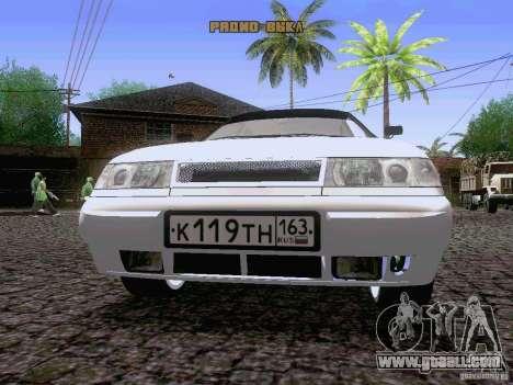 LADA 21103 Maxi for GTA San Andreas inner view
