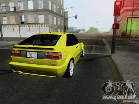 Volkswagen Corrado 1995 for GTA San Andreas back left view