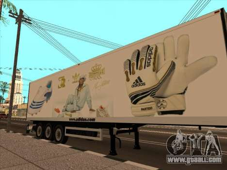 Trailer Adidas for GTA San Andreas upper view