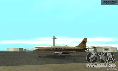 Boeing 737-100 for GTA San Andreas