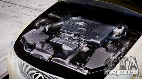 Lexus GS450 2006 Limousine for GTA 4 upper view
