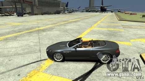 Aston Martin Volante DB9 for GTA 4 left view